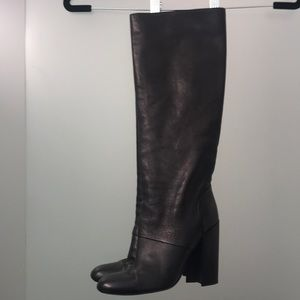 Yves Saint Laurent Leather Boots